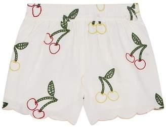 Stella McCartney Embroidered Cherry Shorts