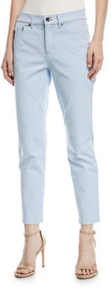 Escada Mid-Rise Straight-Leg Jeans