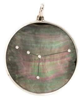 Ippolita Mother of Pearl & Diamond Constellation Pendant
