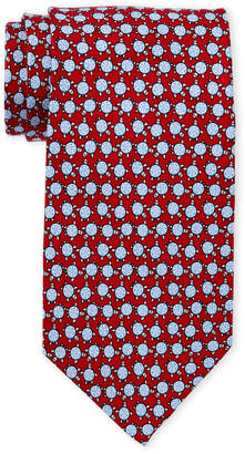 Pierre Cardin Turtle Print Silk Tie