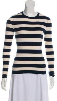 Michael Kors Cashmere Striped Sweater Navy Cashmere Striped Sweater
