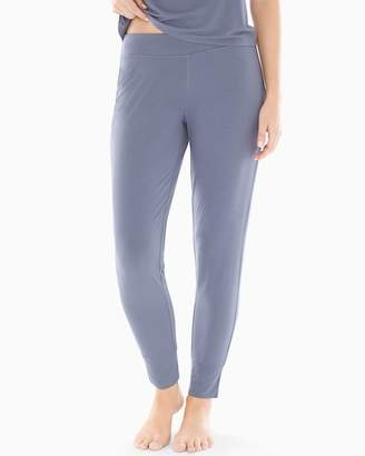 Cool Nights Banded Ankle Pajama Pants Mystery Blue