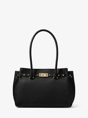 Michael Kors Addison Medium Pebbled Leather Tote
