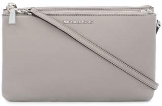 29e0ccd6d867 MICHAEL Michael Kors Grey Leather Crossbody Bags For Women ...