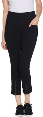 Denim & Co. Active Legging with Pockets and Ankle Zip
