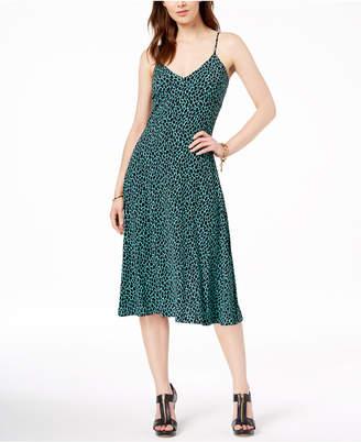 Michael Kors Animal-Print Tank Dress