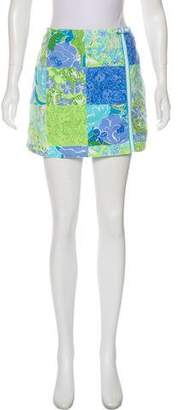 Lilly Pulitzer Bow-Accented Printed Skirt