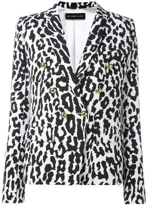 Alexandre Vauthier leopard print blazer