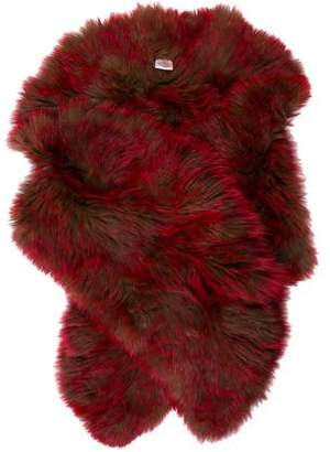 Knitted Fox Fur Stole