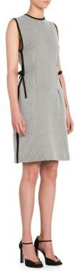 Giorgio Armani Striped Cotton Dress $1,695 thestylecure.com