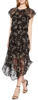 Parker Tegan Floral Print Dress