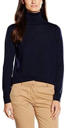 Gant Women's Fine Merino Wool Turtleneck Jumper,(Manufacturer Size: M)