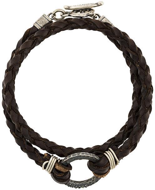 Andrea D'AmicoAndrea D'amico interlaced bracelet