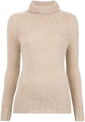 Cecilia Prado turtlek neck tricot blouse