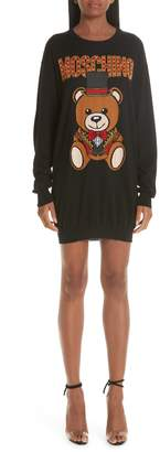Moschino Circus Teddy Sweater Dress