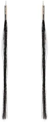 Helmut Lang Re-edition Horse Hair Earrings