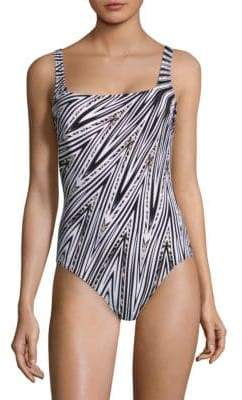 Gottex Swim Star Squareneck Swimsuit