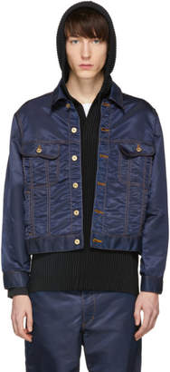 Landlord Navy Nylon Jacket