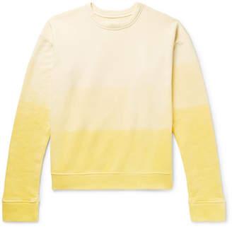 The Elder Statesman Tie-Dyed Fleece-Back Cotton-Jersey Sweatshirt