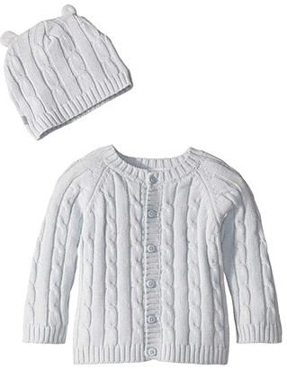Elegant Baby Cable Cardigan and Hat Boxed Set (Infant)