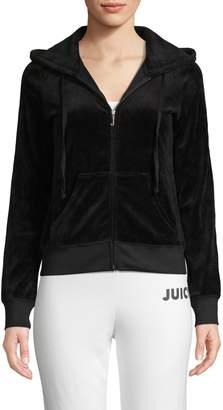 Juicy Couture Velour Robertson Hoodie