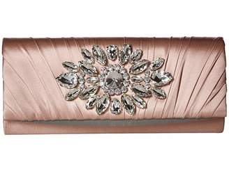 Badgley Mischka Glacier Clutch Special Occasion Handbags