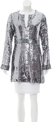 Tory Burch Aurelia Sequin Tunic w/ Tags