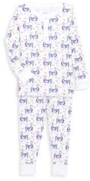 Baby's, Toddler's, Little Girl's & Girl's Chick Two-Piece Gwen the Unicorn Pajamas