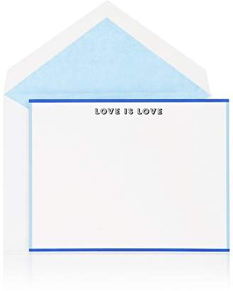 "Connor ""Love Is Love"" Notecard"