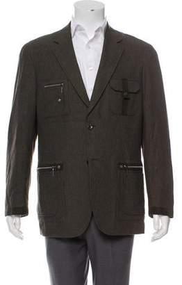 Valentino Wool Military Jacket