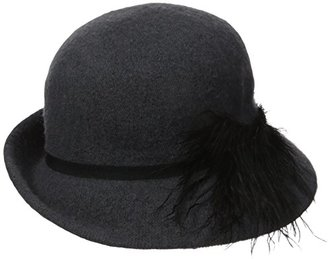 Collection XIIX Women's Dressy Feather Cloche Hat $7.04 thestylecure.com