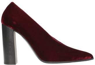 Stella McCartney Plum Burgundy Velvet Pumps
