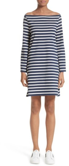 Marc Jacobs Women's Marc Jacobs Reverse Breton Stripe Dress