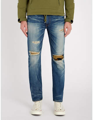 A Bathing Ape 2008 regular-fit straight jeans