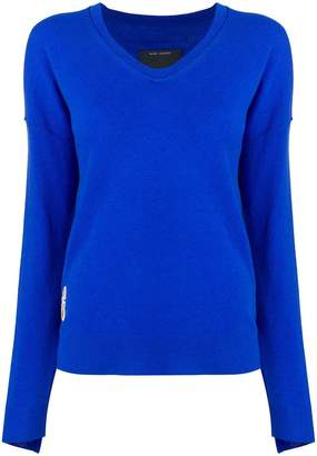 Marc Jacobs long-sleeve fitted sweater