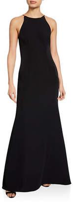 WAYF The Nina Sleeveless Cowl-Back Gown