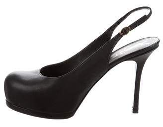 Saint Laurent Tribute Slingback Pumps
