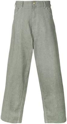 Marni wide leg workwear trousers
