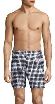 Orlebar Brown Jack Huron Printed Swim Trunks