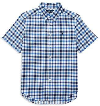 Polo Ralph Lauren Boys' Plaid Performance Oxford Shirt - Big Kid