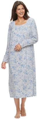 Croft & Barrow Petite Long Pintuck Nightgown