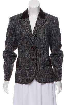 Basler Tweed Notch-Lapel Blazer