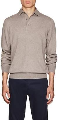 Barneys New York Men's Virgin Wool Polo Sweater