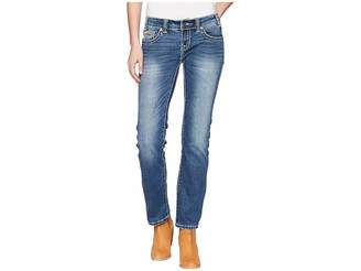 Rock and Roll Cowgirl Rival Bootcut in Medium Wash W6T5079 Women's Jeans
