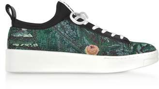 Kenzo Tapestry Jacquard K-City Sneakers