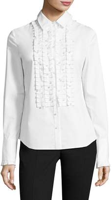 Elie Tahari Women's Juliette Button Down Blouse