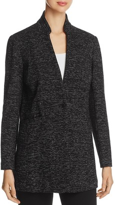 Eileen Fisher Speckled Knit Long Blazer - 100% Exclusive $298 thestylecure.com