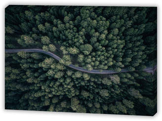 Art Illusions From Above Canvas Wall Art