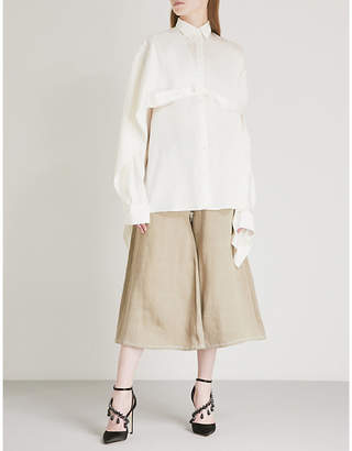 Y/Project Asymmetric oversized shirt