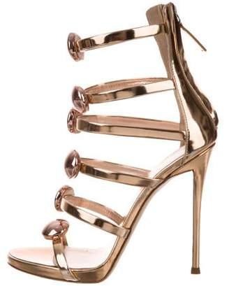8819ee041bb5a Giuseppe Zanotti Alien Sandals w/ Tags